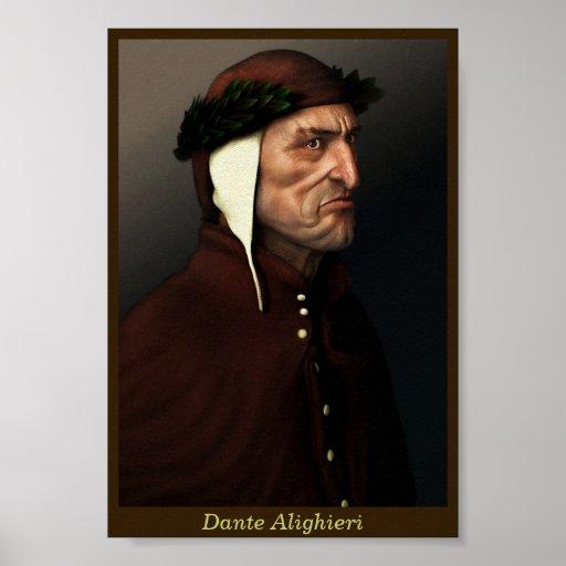 Dante Alighieri Poster