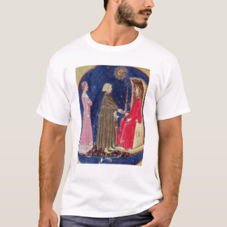 Dante and Beatrice before Justinian T-Shirt