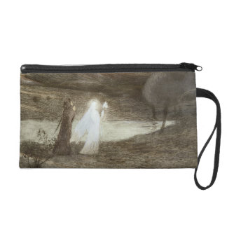 Dante and Beatrice, from 'L'Estampe Moderne', publ Wristlet Purse