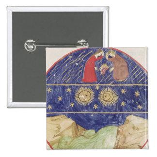 Dante and Beatrice Pinback Button