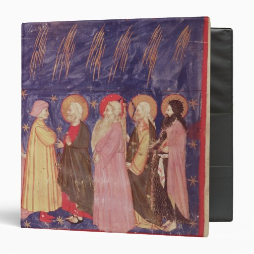 Dante and Beatrice with the Saints of Paradise Binders