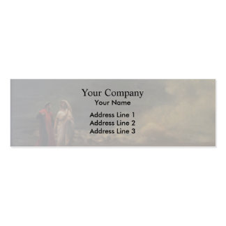 Dante and Virgil in Hell by Jean-Leon Gerome Business Cards