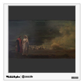 Dante and Virgil in Hell by Jean-Leon Gerome Wall Sticker
