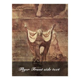 Dante And Virgil In The Ice Of Kozythus. By Johann Flyer Design