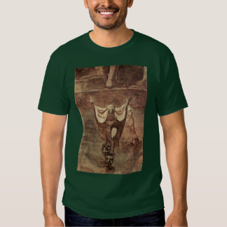 Dante And Virgil In The Ice Of Kozythus. By Johann Tee Shirt