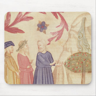 Dante and Virgil  in the Terrestrial Paradise Mousepad