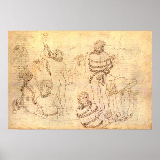 Dante and Virgil Poster