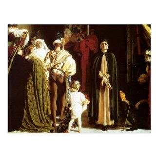 Dante en exilio postales