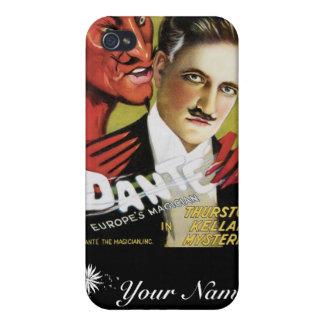 Dante ~ Europe's Magician Vintage Magic Act iPhone 4/4S Case