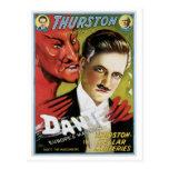 Dante ~ Europe's Magician Vintage Magic Act Postcard
