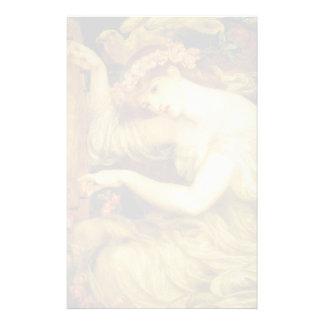 Dante Gabriel Rossetti- A Sea Spell Stationery
