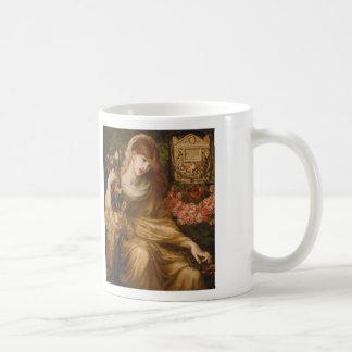 Dante Gabriel Rossetti and Roman Widow Classic White Coffee Mug