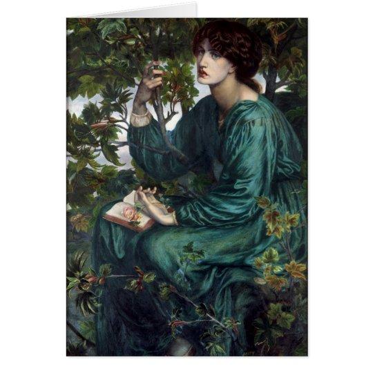 Dante Gabriel Rossetti Art Card