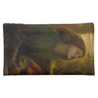 Dante Gabriel Rossetti Art Makeup Bag