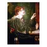 Dante Gabriel Rossetti Art Post Card