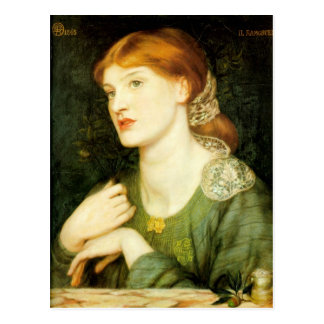 Dante Gabriel Rossetti Art Postcard