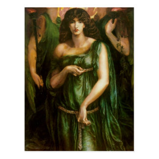 Dante Gabriel Rossetti- Astarte Syriaca Postcard