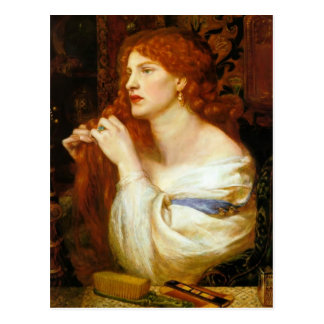 Dante Gabriel Rossetti: Aurelia Tarjetas Postales