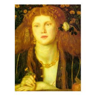 Dante Gabriel Rossetti: Boca besada Tarjetas Postales