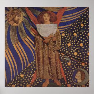 Dante Gabriel Rossetti - Dantes love Posters