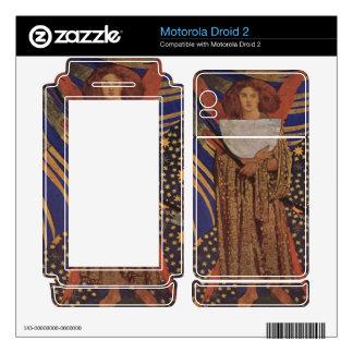 Dante Gabriel Rossetti - Dantes love Motorola Droid 2 Skins