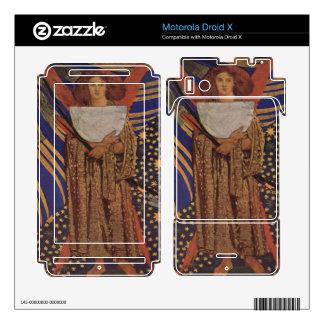 Dante Gabriel Rossetti - Dantes love Motorola Droid X Decal