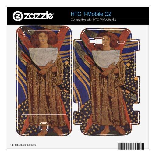 Dante Gabriel Rossetti - Dantes love Decal For HTC T-Mobile G2
