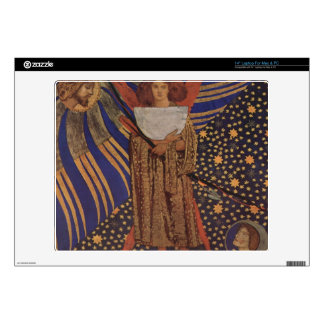 "Dante Gabriel Rossetti - Dantes love Skin For 14"" Laptop"