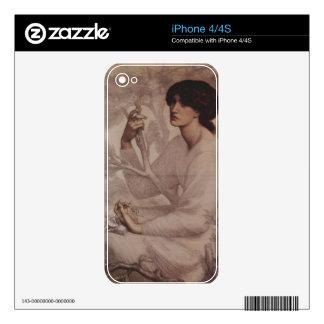 Dante Gabriel Rossetti - Daydream Decals For The iPhone 4S