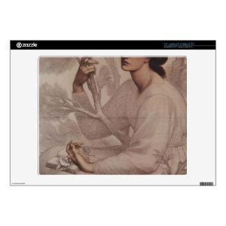 Dante Gabriel Rossetti - Daydream Laptop Decals