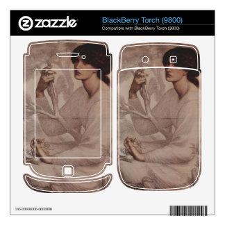 Dante Gabriel Rossetti - Daydream BlackBerry Torch Skin