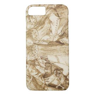 Dante Gabriel Rossetti - Design for Moxon's Tennys iPhone 8/7 Case