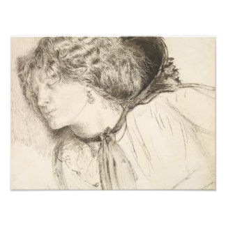Dante Gabriel Rossetti - encontrado - estudio para Fotografías