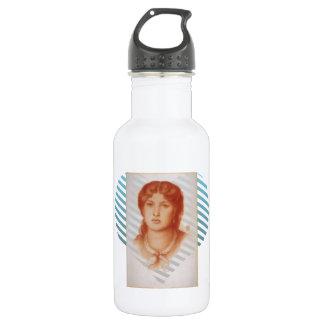 Dante Gabriel Rossetti- Fanny Cornforth 18oz Water Bottle
