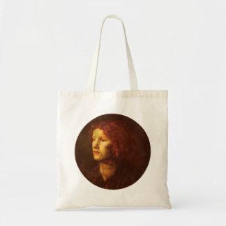 Dante Gabriel Rossetti- Fanny Cornforth Canvas Bag