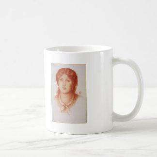 Dante Gabriel Rossetti- Fanny Cornforth Classic White Coffee Mug