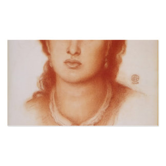 Dante Gabriel Rossetti- Fanny Cornforth Double-Sided Standard Business Cards (Pack Of 100)