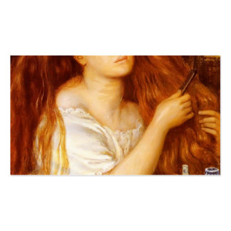 Dante Gabriel Rossetti: Golden Tresses Double-Sided Standard Business Cards (Pack Of 100)