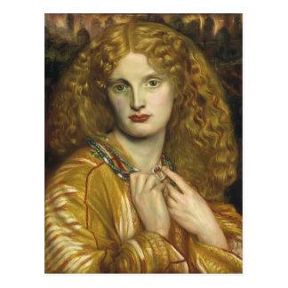 Dante Gabriel Rossetti: Helen de Troy Postales