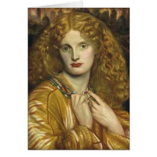 Dante Gabriel Rossetti: Helen of Troy Card