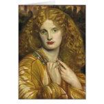 Dante Gabriel Rossetti: Helen of Troy Greeting Card