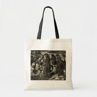 Dante Gabriel Rossetti Illustration Pre-raphaelite Tote Bags