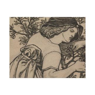 Dante Gabriel Rossetti - King Rene's Honeymoon Canvas Print