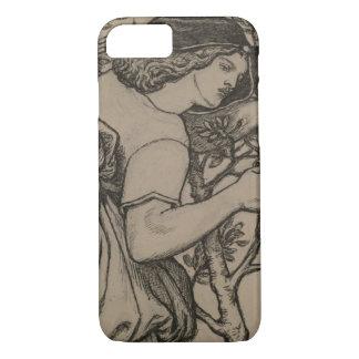 Dante Gabriel Rossetti - King Rene's Honeymoon iPhone 8/7 Case