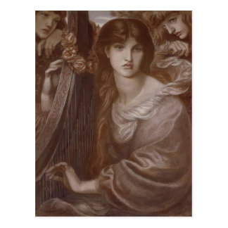 Dante Gabriel Rossetti: La guirnalda Postal