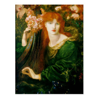 Dante Gabriel Rossetti- la guirnalda Tarjetas Postales