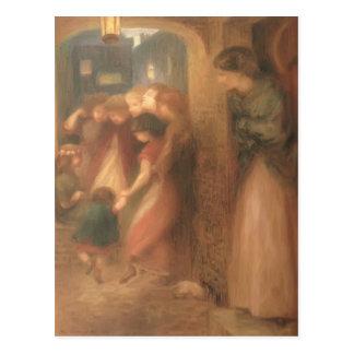 Dante Gabriel Rossetti- la puerta de la memoria Postales