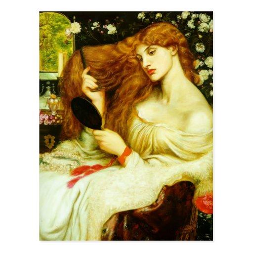 Dante Gabriel Rossetti- Lady Lilith Post Cards