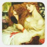 Dante Gabriel Rossetti- Lady Lilith Stickers