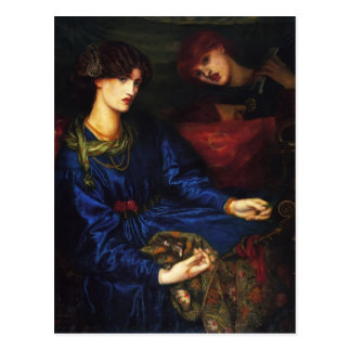 Dante Gabriel Rossetti- Mariana Postales